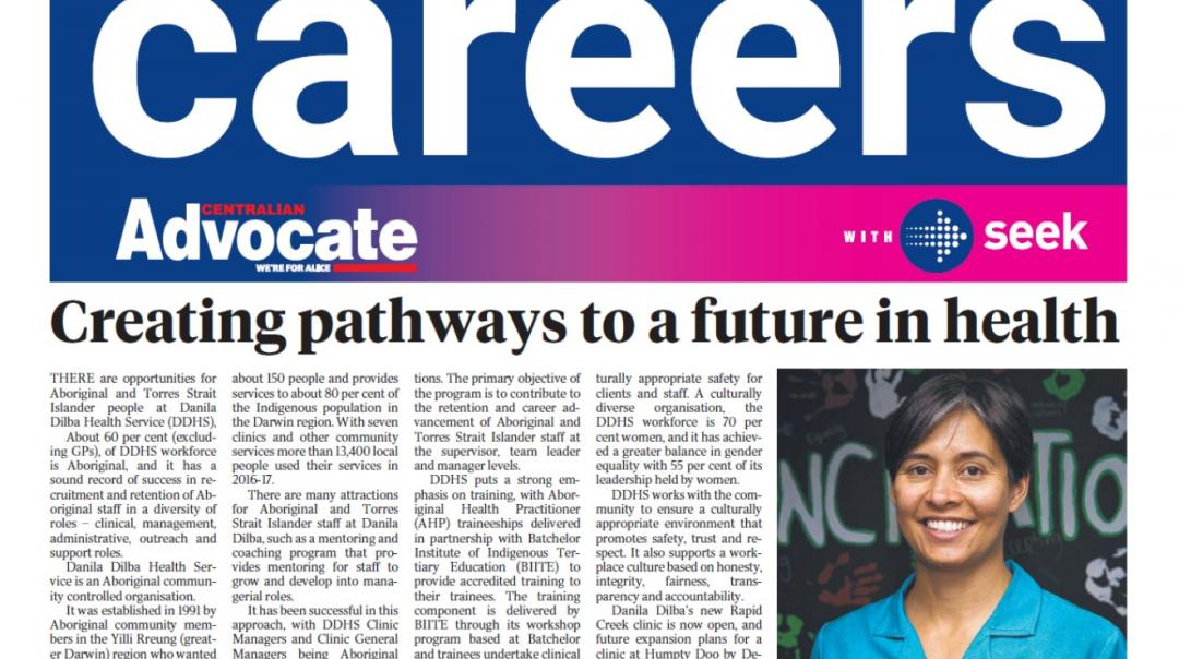 Career Pathways to a future in health