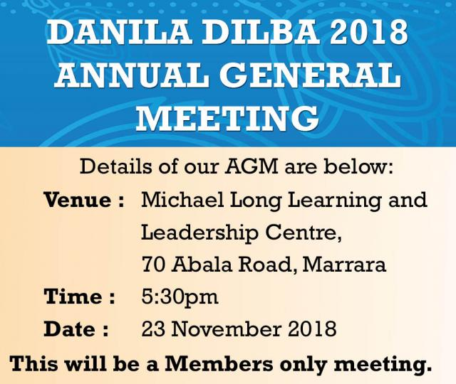 Danila Dilba Health Service Annual General Meeting 2018